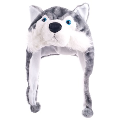 Wolf-shaped cap
