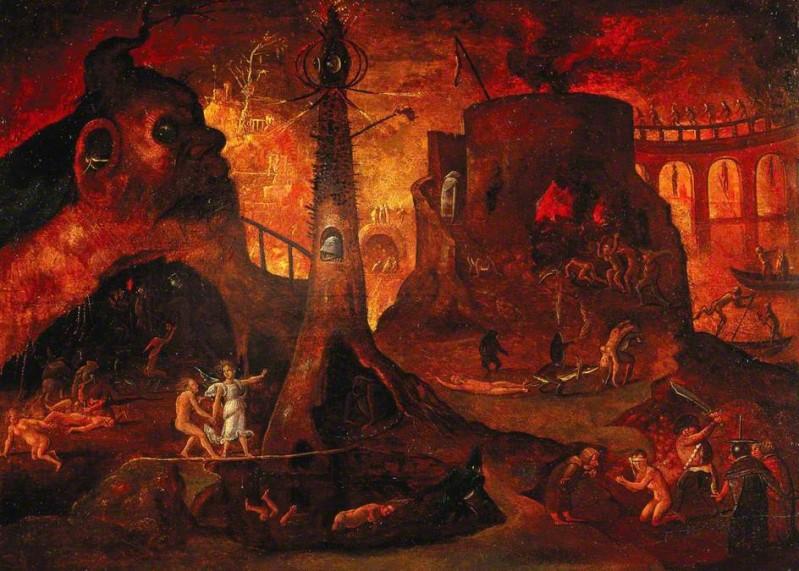 L'inferno di Hieronymus Bosch