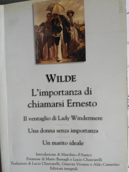 Wilde - Le Commedie